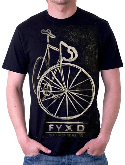 FYXD Cycling Tee Tshirt Fixie