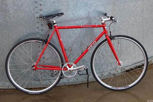 Reid Cycles Harrier Singlespeed Fixie City