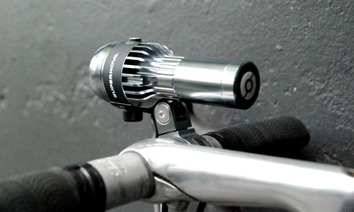 Supernova bike light design