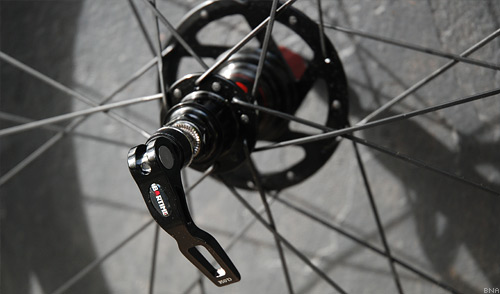 Bartime BW38 Wheelset quick release skewers
