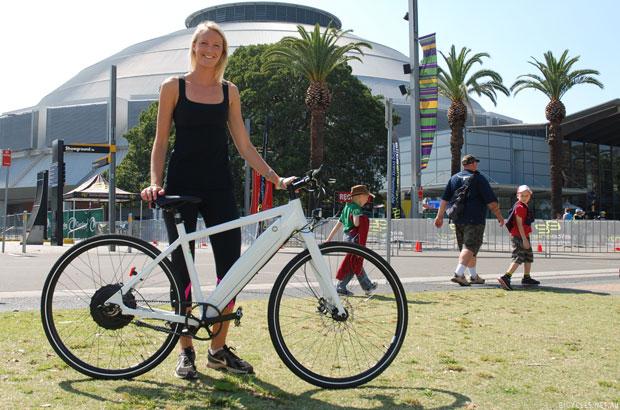 Sydney Bike Show Grace Ebike