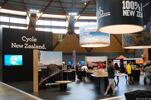 Sydney Bike Show Tourism New Zealand Cycling