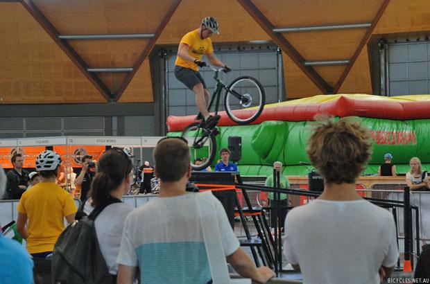 Sydney Bike Show Events Trials Demonstration