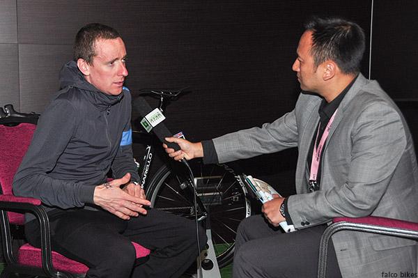 Bradley Wiggens bin tan  binny cycling china