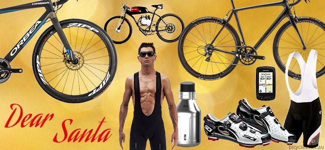 Christmas Xmas Cycling Shopping wish list