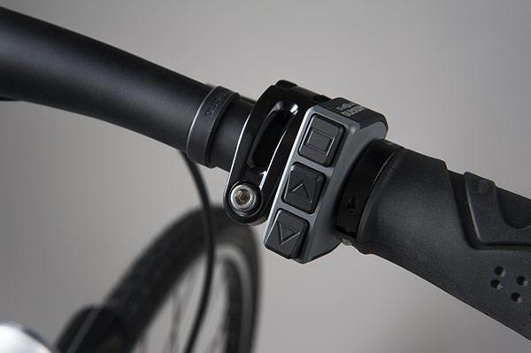 Shimano STEPS ebike control shifter