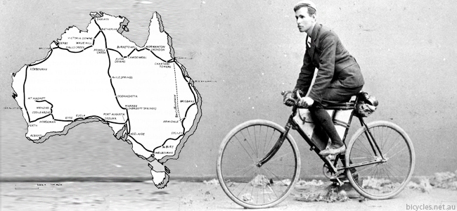 Arthur Richardson Nullabor Cycling Australia