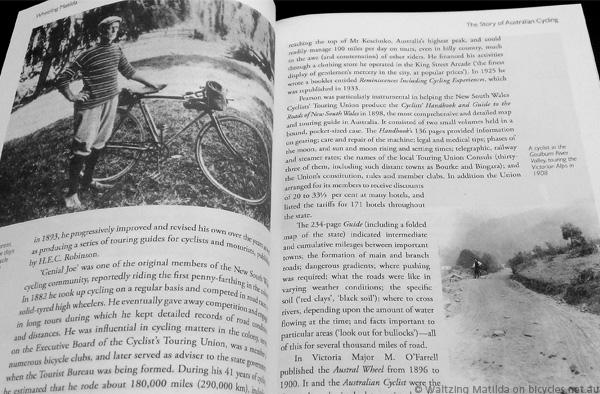 Australian Bicycle Cycling History Jim Fitzpatrick