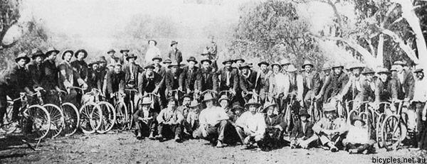Australian Shearers Bicycles Banjo patterson