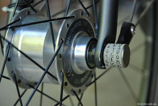 Sphyke Bicycle Wheels Security Axle