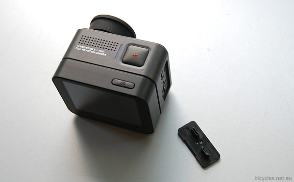 Action Cam Removable USB Flap