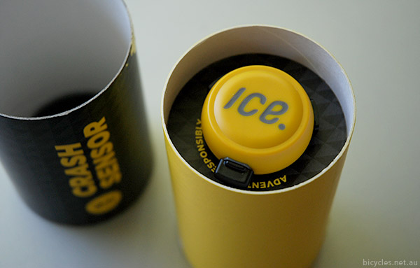 Icedot crash sensor packaging
