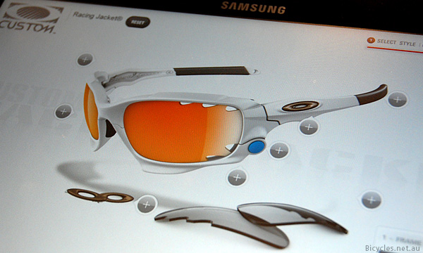 Custome Oakley Racing Jacket