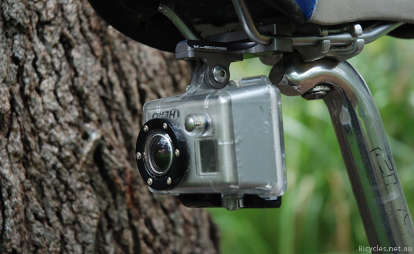 Rear Mounted Sports Action Camera