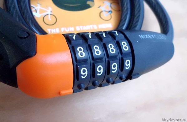 Nixe Combination Lock