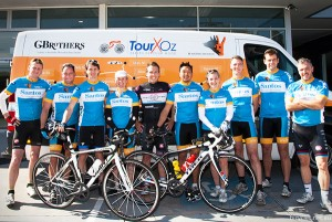 TourXOz Adelaide Darwin Cycling