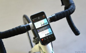 Smart Phone Bike Cycling